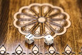 Backgammon Bois De Hêtre