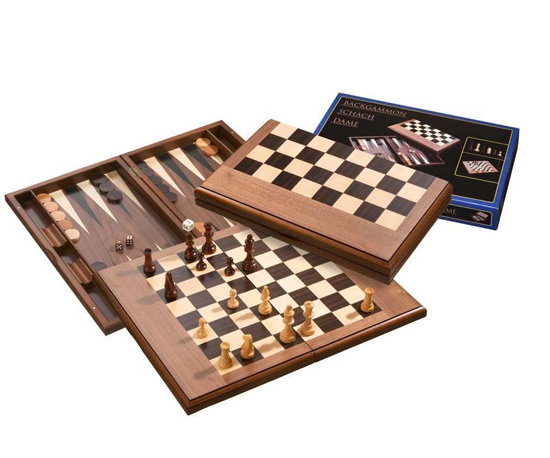 jeu backgammon bois