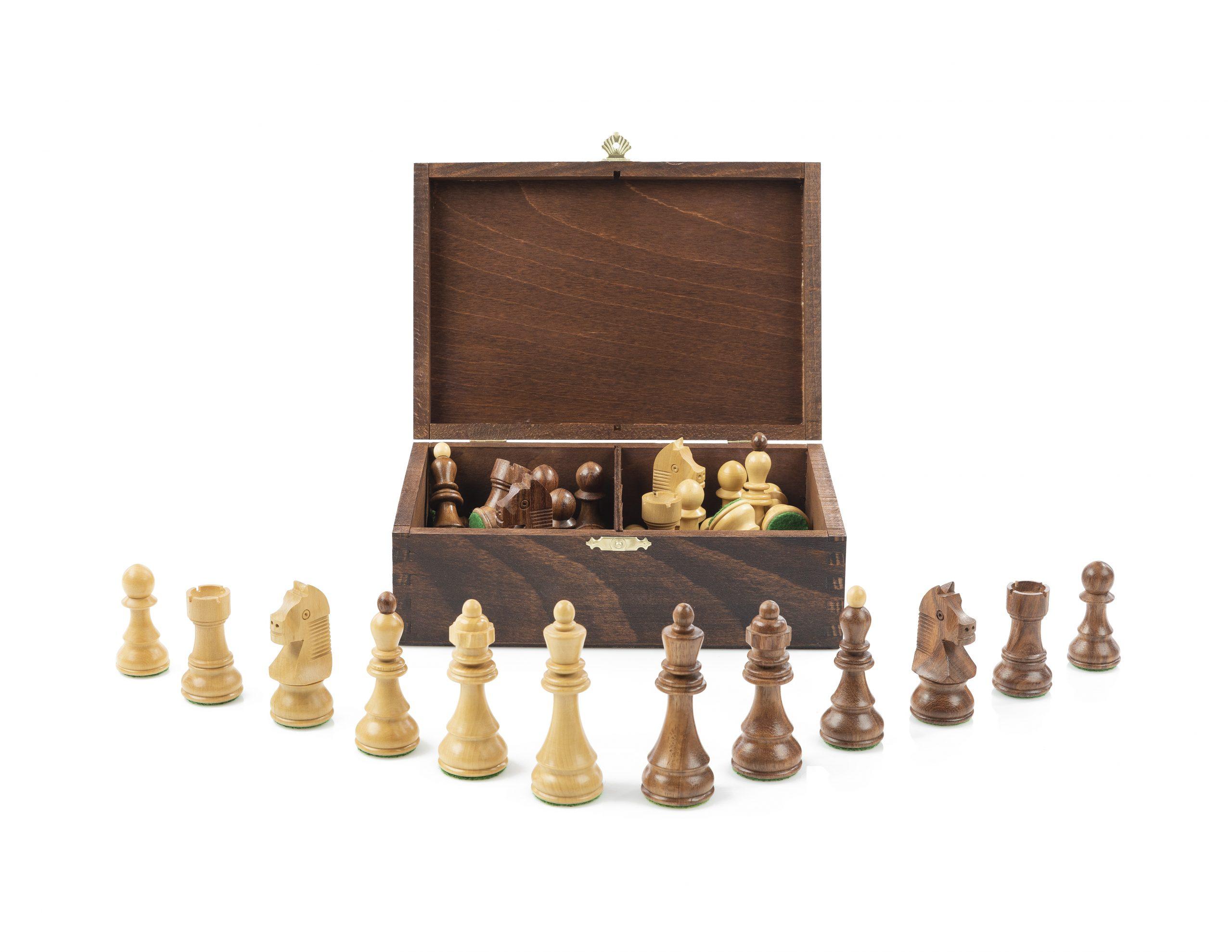 Pièces D'échecs En Bois